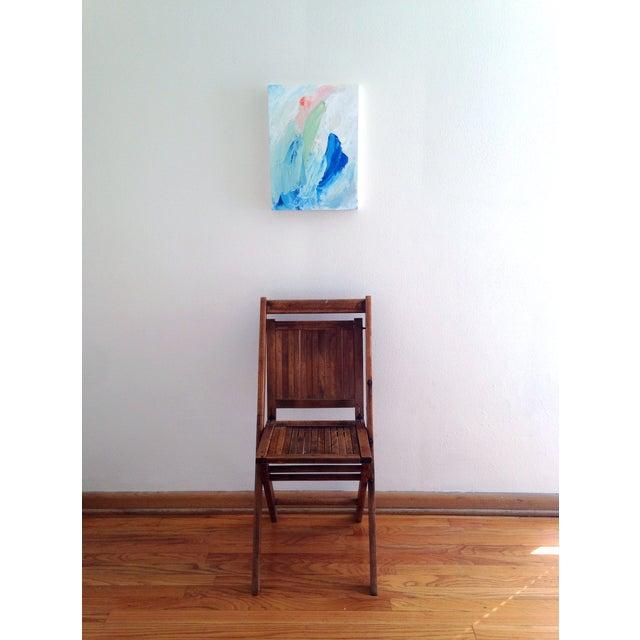 """Dani Schafer """"Quiet II"""" Original 2014 Painting - Image 3 of 8"""
