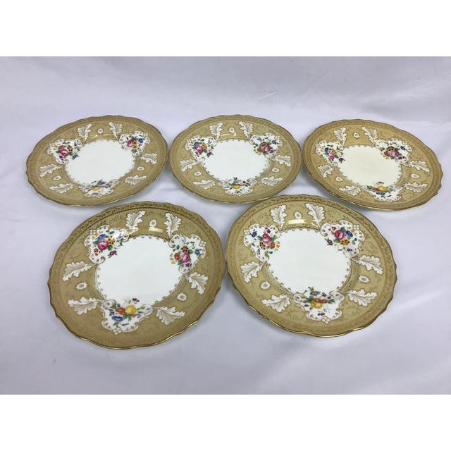 "Cauldon Cauldon England for Tiffany New York 9"" Dinner/Luncheon Plates - Set of 12 For Sale - Image 4 of 9"