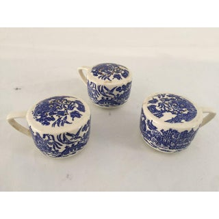 Vintage Blue Willow Royal China Salt & Pepper Shakers - Set of 3 Preview