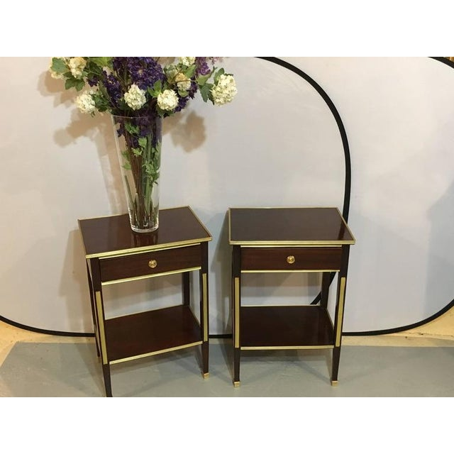Russian Style Bronze Mounted End Tables - A Pair - Image 3 of 8