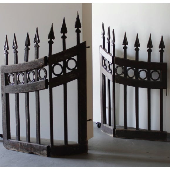Mid 19th Century Wood Stable Gates - a Pair For Sale - Image 5 of 5