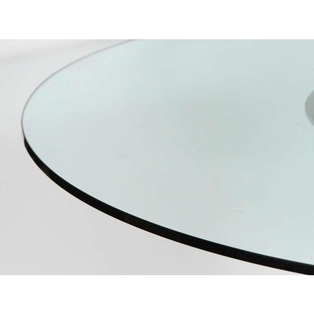 Sculptural Brutalist Pedestal Style Table For Sale - Image 9 of 9
