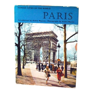 1968 Paris Photography Book by Andre Martin For Sale