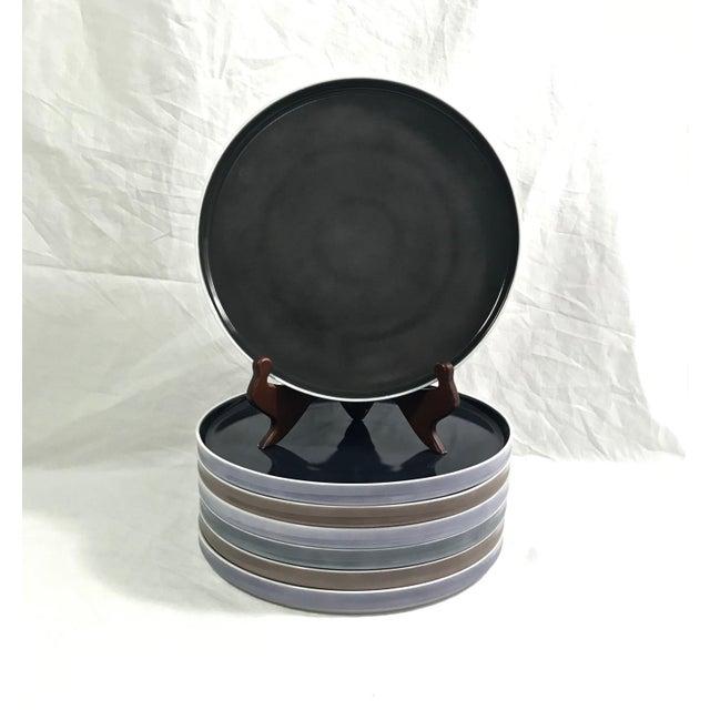 Block Chromatics Dinner Plates, Set of 7 For Sale - Image 9 of 9