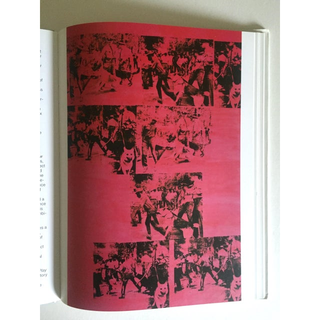"""This rare first edition vintage 1990 collector's hardcover art book with dust jacket titled """" Andy Warhol Commerce Into..."""
