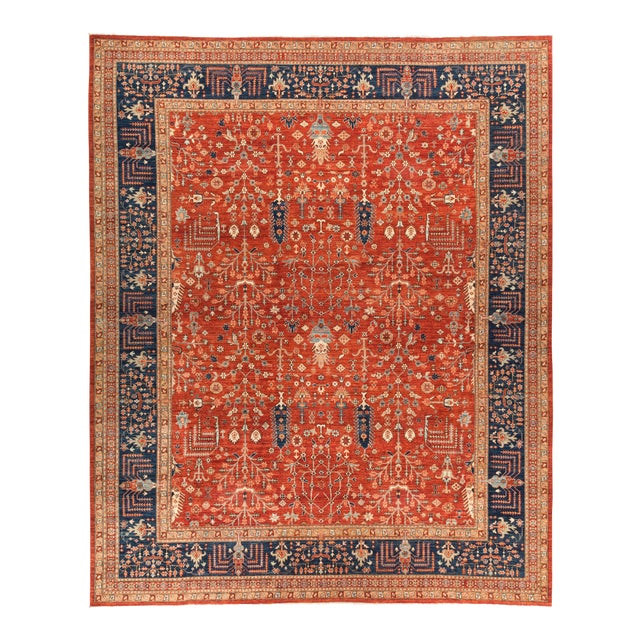 """Serapi Hand Knotted Area Rug - 12' 0"""" X 14' 7"""" - Image 1 of 4"""