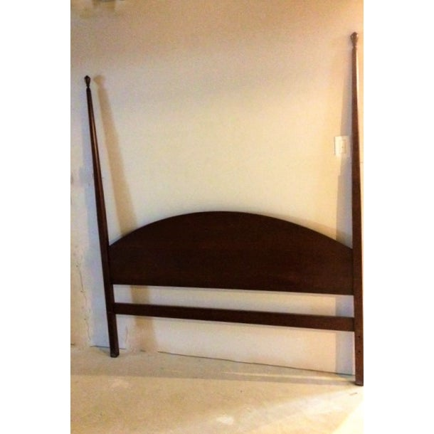 Shaker Solid Cherry Queen Poster Bed - Image 2 of 5
