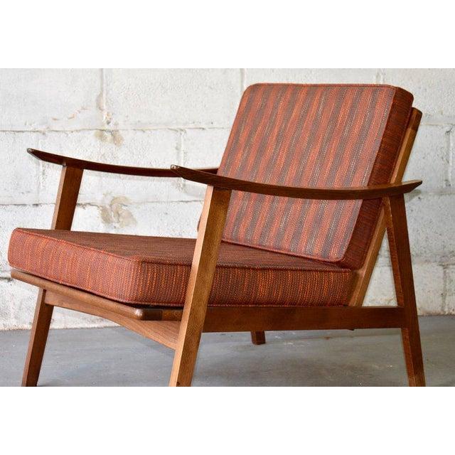 Mid Century Modern Armchair Lounge Chair Chairish