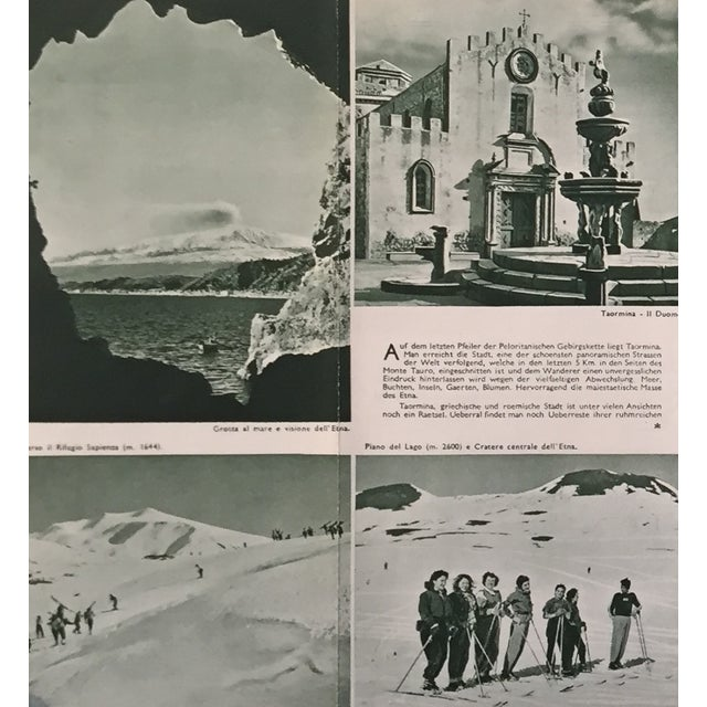 1940s Italian Travel Brochure, Taormina Italy - Image 7 of 8