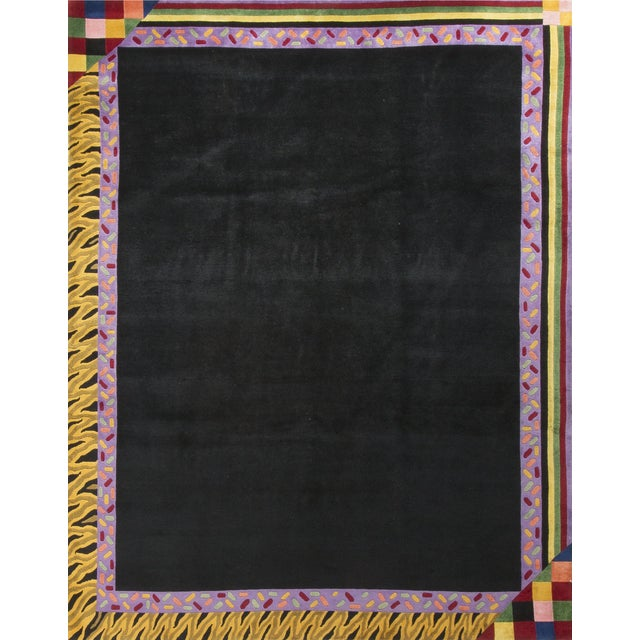 Modern Hand Knotted Wool Rug - 8' × 10' - Image 2 of 5