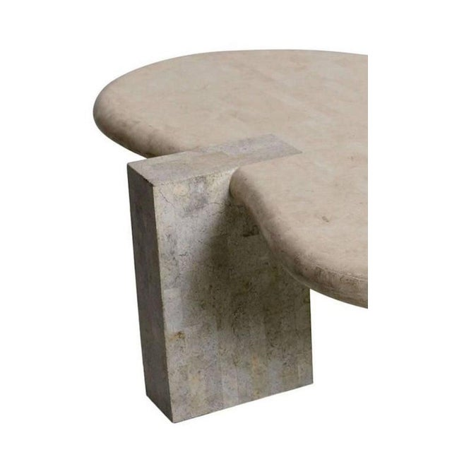 Tessellated Stone Biomorphic Coffee Table, by Maitland Smith For Sale - Image 10 of 12