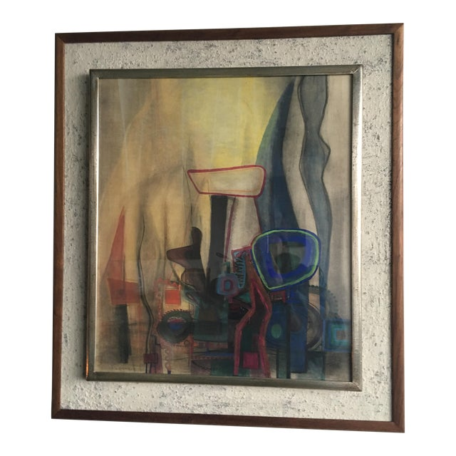 Modern Interiors Abstract Painting - Image 1 of 10