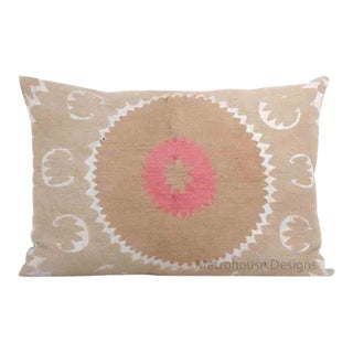 Large Vintage Gulkurpa Lumbar Pillow - Cover Only For Sale