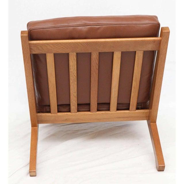 Pair of Hans Wegner GE-375 Lounge Chairs - Image 9 of 10