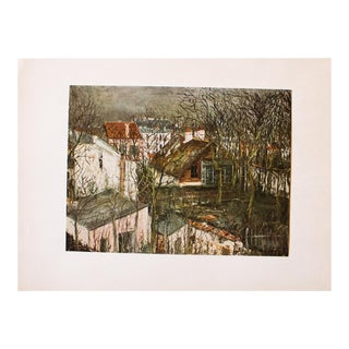 1950s Maurice Utrillo, the Berlioz House and the Hunting Lodge of Henri IV For Sale