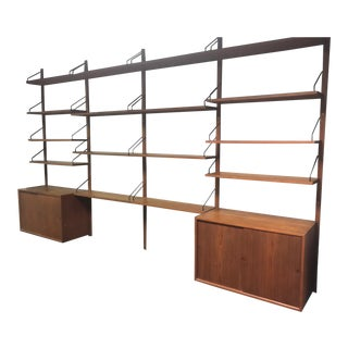 Mid-Century Modern Wall Shelves by Poul Cado For Sale