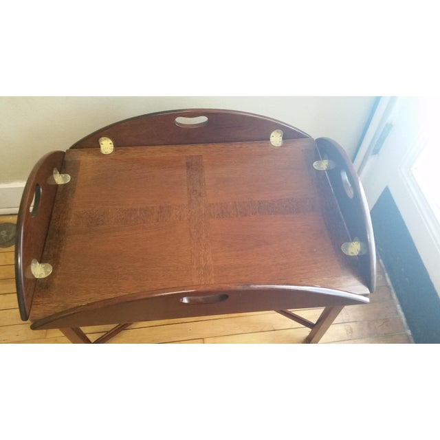Vintage Mahogany Butler's Table - Image 3 of 10