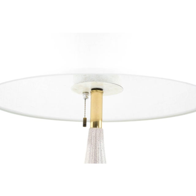 Contemporary Porcelain Table Lamp by Gerald Thurston for Lightolier, 1950s For Sale - Image 3 of 8