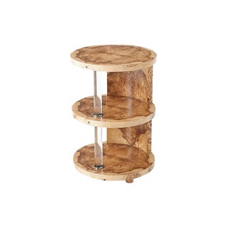Three Tiered Theodore Alexander Terrace Accent Table