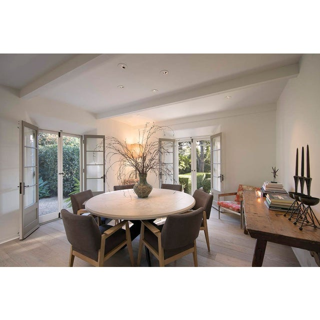 Custom designed ALESSIO Dining Table from FORMATIONS available for sale! F-DT10 ALESSIO TABLE BASE 51 1/22' DIA x 27 1/2'...
