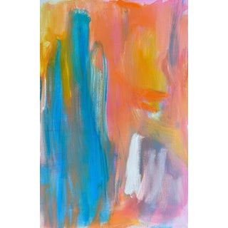 """""""Sulu Falls"""" by Trixie Pitts Abstract Oil Painting For Sale"""