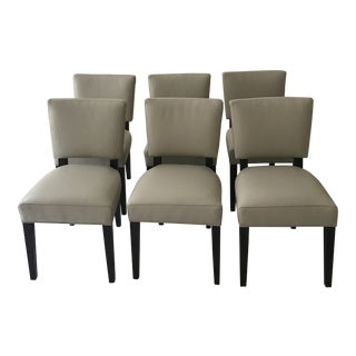 Room & Board Leather Dining Chairs - Set of 6