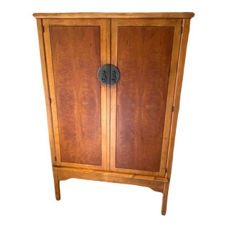 Romweber Asian Inspired Armoire For Sale