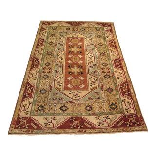 """Vintage Persian Wool Area Rug - 6'5"""" X 10'"""