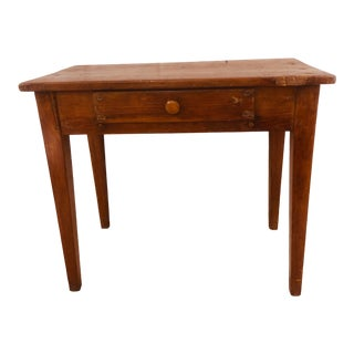 Antique Primitive Writing Table For Sale