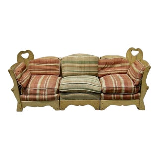 Monterey Style Sectional Sofa Suite For Sale