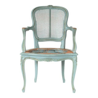 French Provincial Accent Chair For Sale