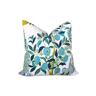 Outdoor Citrus Garden Pillow Cover For Sale