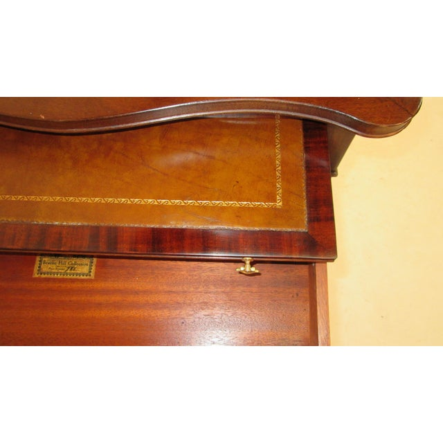1940s Beacon Hill Collection Game Table For Sale In Portland, ME - Image 6 of 10