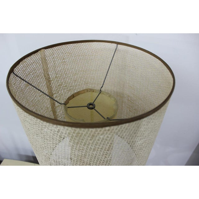 Mid Century Modern danish table lamp For Sale In Boston - Image 6 of 11
