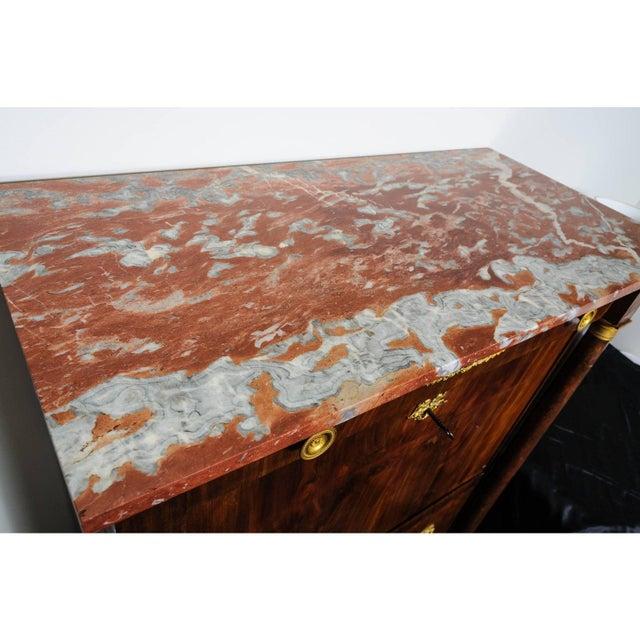 Brown Antique 1817 Ipolito Ceri Secretaire a Abbant Secretary Desk For Sale - Image 8 of 12