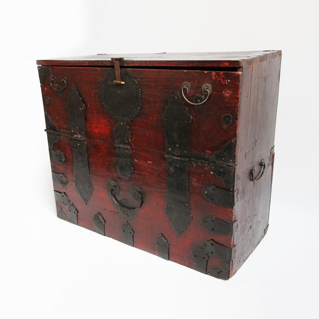 Asian Korean Trunk Table For Sale - Image 3 of 4