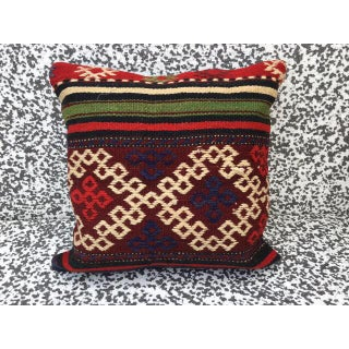Turkish Kilim Pillow Cover Preview