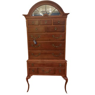1950s Traditional Lexington Wooden Highboy