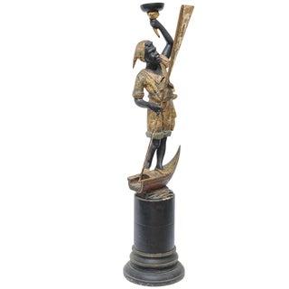 19th Century Blackamoor Sculpture For Sale