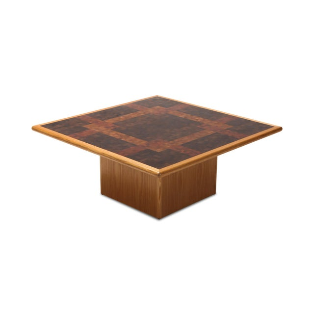 Brown Middelboe and Lindum Mosaic Coffee Table For Sale - Image 8 of 8