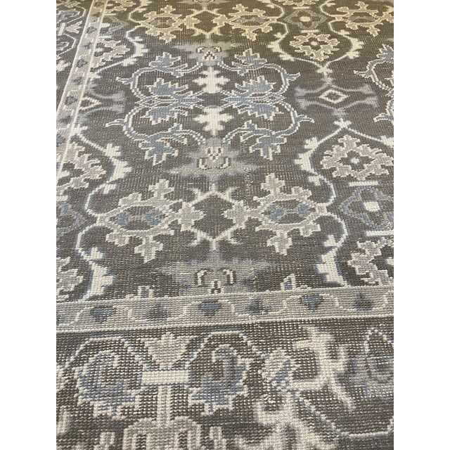 This brand new and decorative spanish design rug from Kashmir was created to look distressed and vintage. 100% natural...