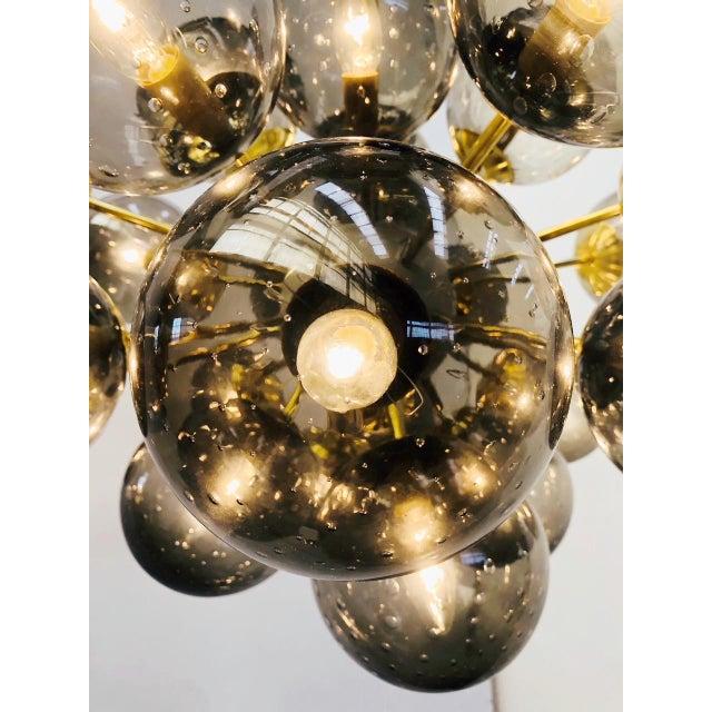 Gold Ovale Sputnik Chandelier by Fabio Ltd For Sale - Image 8 of 12