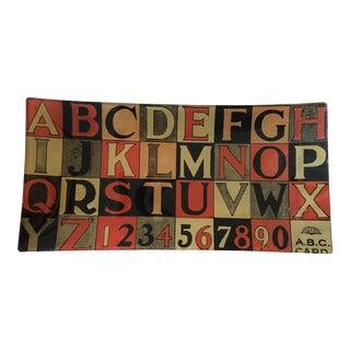 John Derian Decoupage Alphabet Tray