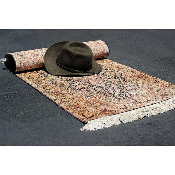 Vintage Faded Area Rug - 2′2″ × 5′1″ - Image 5 of 6