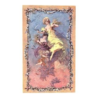 Original 1911 Jules Cheret Lithograph For Sale