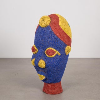 Cameroon African Beaded Terrcotta Head Preview