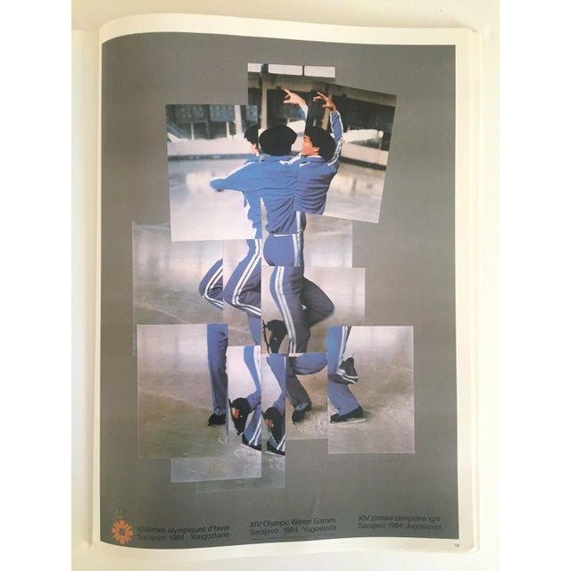 "David Hockney Vintage 1987 ""Hockney Posters"" Rare 1st Edtn Extra Large Collector's Art Book For Sale - Image 4 of 11"