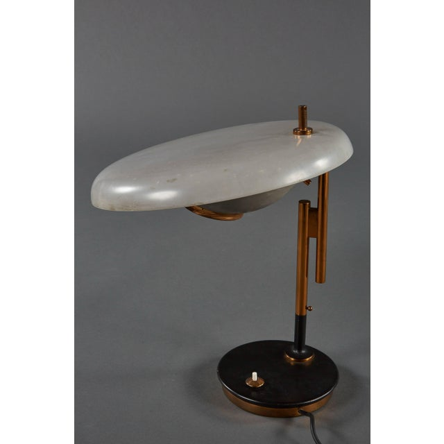 Lumi Adjustable Oscar Torlasco Table Lamp for Lumi For Sale - Image 4 of 11