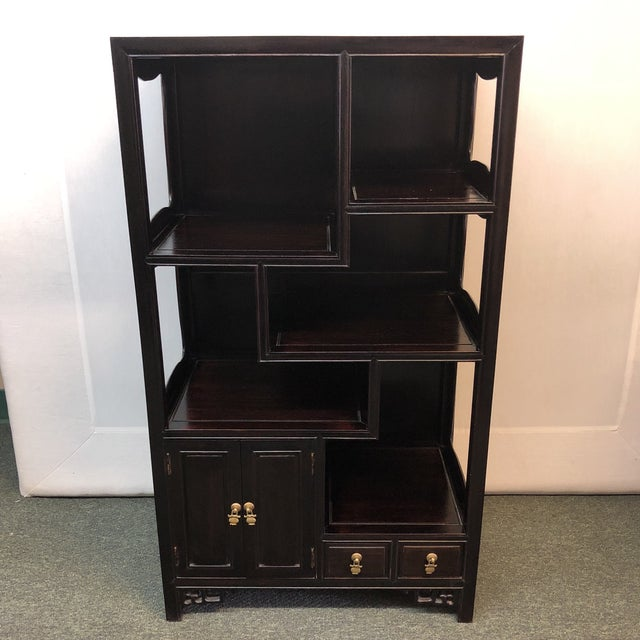 Asian Inspired Display Cabinet For Sale - Image 12 of 12
