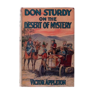 "1925 ""First Edition, Don Sturdy on the Desert of Mystery"" Collectible Book For Sale"